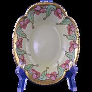 """Haviland Limoges Pickard Studios Poppy Design Bowl (Signed """"HT""""/c.1903-1905) - Red Tag Sale Item"""