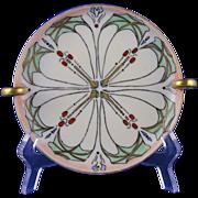 Favorite Bavaria Arts & Crafts Handled Dish/Lemon Server (c.1910-1930)