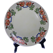 Thomas Bavaria Arts & Crafts Poppy Motif Plate (c.1908-1930)