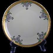 Thomas Bavaria Arts & Crafts Daisy Motif Plate (c.1908-1930)