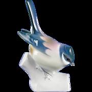 Zsolnay Hungary Bird Figurine (c.1920-1940)