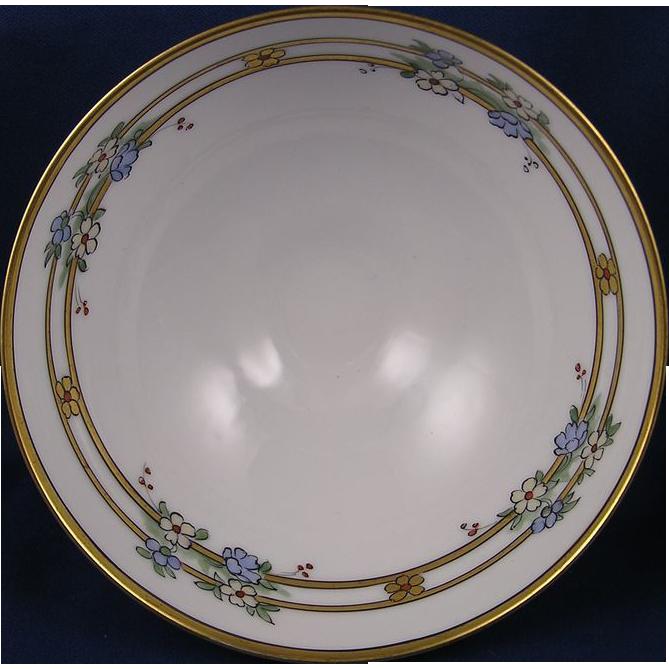 Pickard Studios Art Deco Floral Motif Bowl (c.1912-1918)