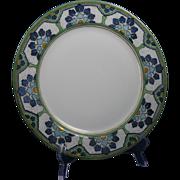 Haviland Limoges Arts & Crafts Floral Design Plate (c.1905-1920)