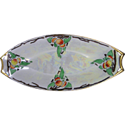 "Hutschenreuther Selb Bavaria Arts & Crafts Fruit Motif Serving Dish (Signed ""Glen Clark""/Dated 1915)"