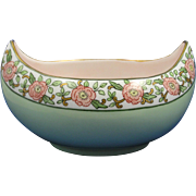 Favorite Bavaria Arts & Crafts Floral Motif Bowl (c.1910-1930)