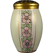 "Arts & Crafts Floral Motif Muffiner/Sugar Shaker (Signed ""M. Rankin""/c.1910-1930)"