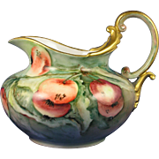 """Rosenthal Bavaria Arts & Crafts Apple Motif Pitcher (Signed """"Montgomery""""/Dated 1905)"""