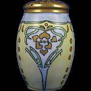 """Zeh Scherzer & Co. (ZS&Co.) Bavaria Arts & Crafts Muffiner/Sugar Shaker (Signed """"Mason""""/c.1880-1930)"""