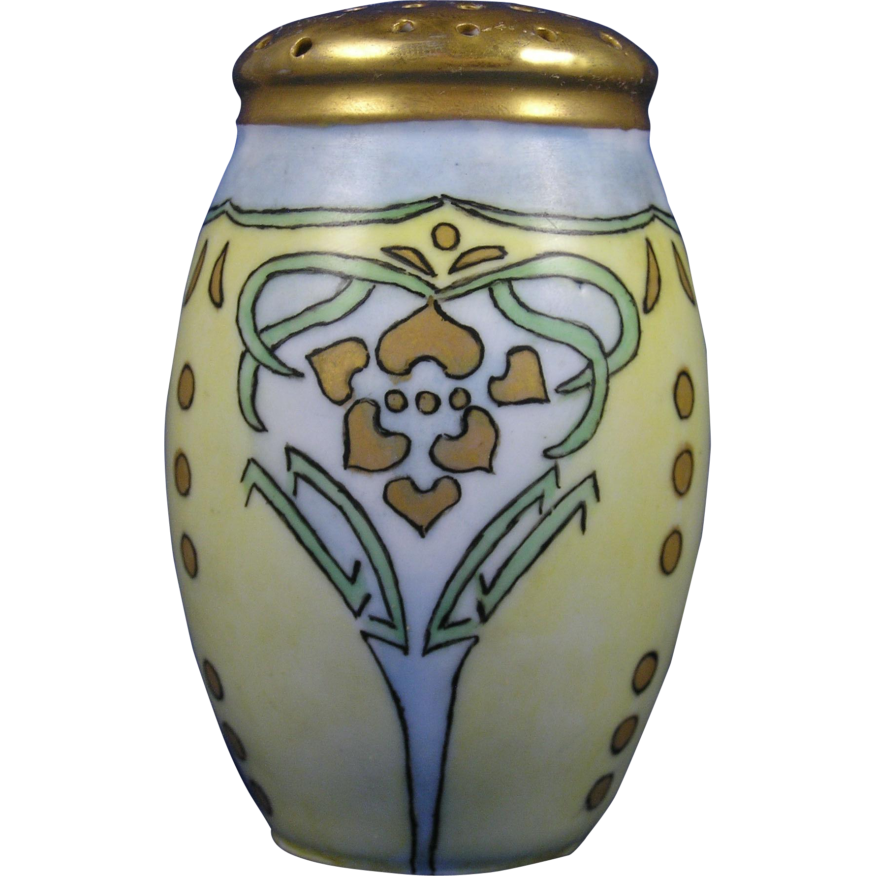 "Zeh Scherzer & Co. (ZS&Co.) Bavaria Arts & Crafts Muffiner/Sugar Shaker (Signed ""Mason""/c.1880-1930)"