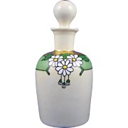 "William Guerin & Co. (WG&Co.) Limoges Arts & Crafts Daisy Motif Perfume Bottle (Signed ""A. Otto""/Dated 1916)"