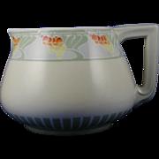 "Delinieres & Co. (D&Co.) Limoges Arts & Crafts ""Mountain Ash"" Design Cider/Lemonade Pitcher (c.1894-1920) - Keramic Studio Design"