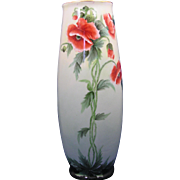 PH Leonard Austria Arts & Crafts Poppy Design Vase (c.1890-1908)