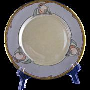 "Bernardaud & Co. (B&Co.) Limoges Art Deco Fruit Motif Plate (Signed ""M. Dunning""/c.1914-1930) - Keramic Studio Design"
