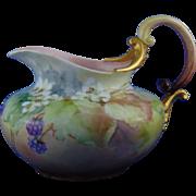 Rosenthal Bavaria Raspberry Design Pitcher (c.1897-1899)