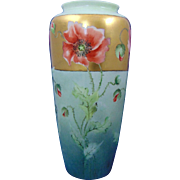 Lenox Belleek Poppy Motif Vase (c.1906-1924)