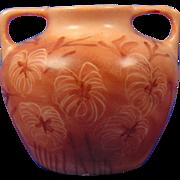 """Vignaud Limoges Arts & Crafts Floral Design Vase (Signed """"A. Onslow""""/c.1938-1945)"""