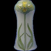 Porcelain Blank Arts & Crafts Daffodil Motif Vase (c.1910-1935)