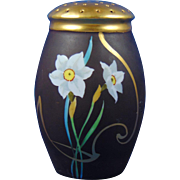 Porcelain Blank Jonquil Design Sugar Shaker/Muffiner (c.1910-1930)