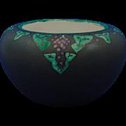 "Rosenthal Selb Bavaria Arts & Crafts Grape Motif Vase (Signed ""Francis Bodie""/Dated 1923)"