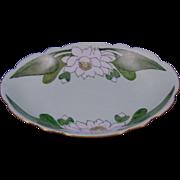"Favorite Bavaria Arts & Crafts Lotus Blossom Motif Bowl (Signed ""J.M.H.""/Dated 1915)"