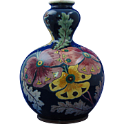 Royal Bonn Old Dutch Pansy Design Vase (c.1890-1923)