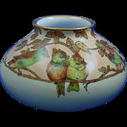 Pfeiffer & Lowenstein (P&L) Austria Arts & Crafts Bird Motif Vase (c.1914-1918)