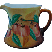 William Guerin & Co. (WG&Co.) Limoges Arts & Crafts Apple Motif Pitcher (c.1900-1932)