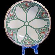"Pfeiffer & Lowenstein (P&L) Austria Arts & Crafts Apple Motif Bowl (Signed ""E.C. Kress""/Dated 1914)"