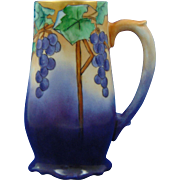 PH Leonard Austria Arts & Crafts Grape Motif Tankard/Mug (c.1890-1908)