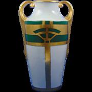 Wehinger Czechoslovakia Geometric Design Vase (c.1918-1936)