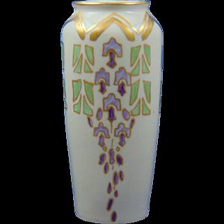 C. Tielsch Altwasser Silesia Arts & Crafts Floral Motif Vase (c.1895-1918)