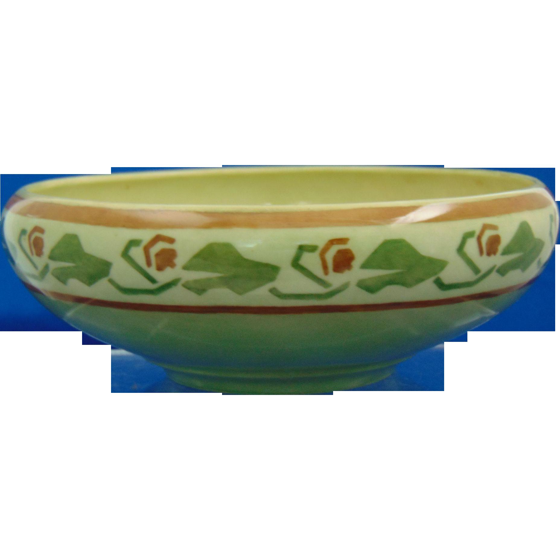 Tressemann & Vogt (T&V) Limoges Arts & Crafts Bowl (c.1892-1907)