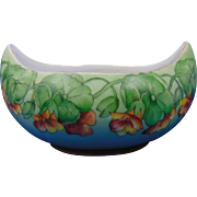 "Favorite Bavaria Arts & Crafts Nasturtium Design Bowl (Signed ""C.S.""/c.1905-1930)"
