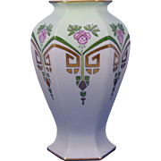 Bernardaud & Co. (B&Co.) Limoges Arts & Crafts Floral Design Vase (c.1900-1914)