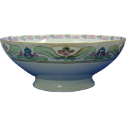 Haviland Limoges Arts & Crafts Floral Motif Centerpiece Bowl (c.1894-1931)