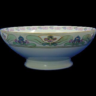 Haviland Limoges Arts & Crafts Floral Motif Centerpiece Bowl (c.1894-1931)