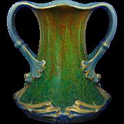 "Royal Bonn Germany ""Gres"" Series Art Nouveau Handled Vase (c.1890-1923)"