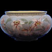 Frederick & Alexander Gerbing (F&AG) Austria Floral Motif Pottery Planter/Vase (c.1900-1903)