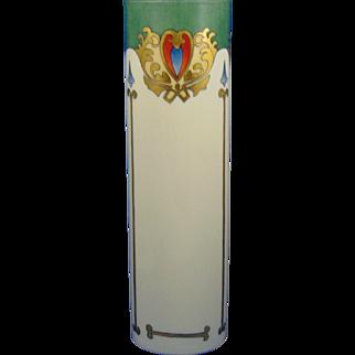 Willetts Belleek Art Nouveau Design Vase (c.1880-1904)