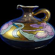 PH Leonard Arts & Crafts Lustre Iris Motif Pitcher (c.1890-1908)