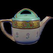 Rosenthal Selb Bavaria Arts & Crafts Floral Motif Teapot (c.1907-1930)