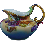 Rosenthal Bavaria Blackberry/Raspberry Motif Pitcher (Signed/Dated 1909)