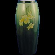 Heinrich & Co. (H&Co.) Selb Bavaria Daffodil Design Vase (c.1910-1930)