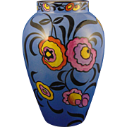 Bernardaud & Co. (B&Co.) Limoges Art Deco Floral Motif Vase (c.1900-1914)