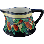Heinrich & Co. (H&Co.) Bavaria Arts & Crafts Apple Motif Pitcher (c.1900-1930)
