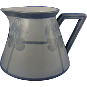 Delinieres & Co. (D&Co.) Limoges Arts & Crafts Monochromatic Organic Motif Pitcher (c.1900-1920)