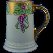 Jaeger & Co. (JC) Bavaria Grape Motif Tankard/Mug (c.1910-1930)