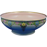 Gerard, Dufraisseix & Abbott (GDA) Limoges Arts & Crafts Floral Design Bowl (c.1900-1941)