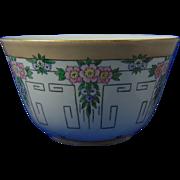 Paroutaud Freres (P&P) La Seynie Limoges Arts & Crafts Floral Design Bowl (c.1903-1917)