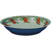 "Bavaria Porcelain Arts & Crafts Fruit Motif Bowl (Signed ""M.F. Kelley""/Dated 1913)"